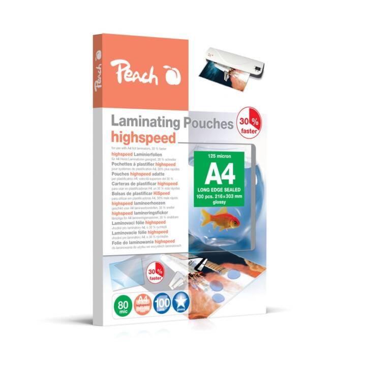 PEACH Films de plastification (A4, 80 µm, 100 pezzo)