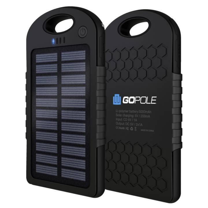 GOPOLE USB Power Bank+Solar Ladegerät GoPro