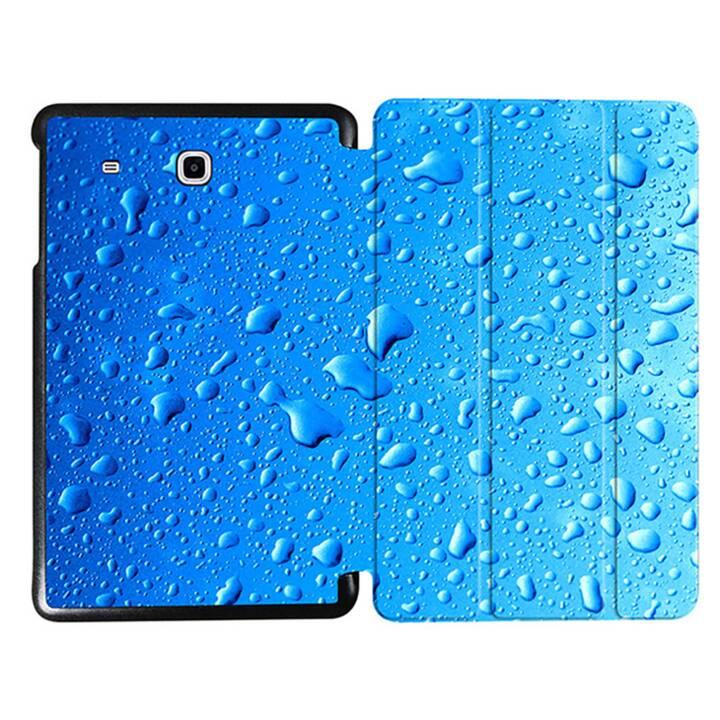 """EG MTT Sacoche à comprimés avec couvercle rabattable pour Samsung Galaxy Tab E 9.6"""" - Waterdrops"""