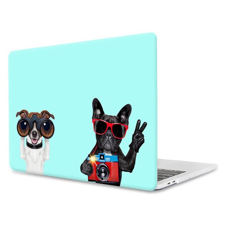 "EG MTT Laptop-Cover für Macbook Pro 15"" Touch Bar - Mint Funny Dogs"