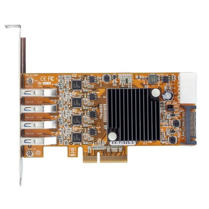 EXSYS Carte d'interface (PCI Express)