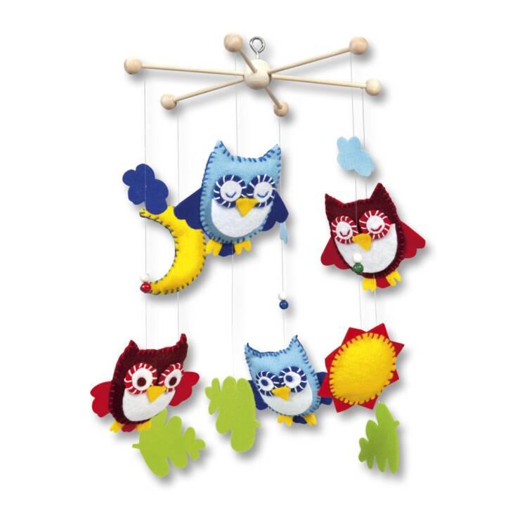 FOLIA Owls Giostre culla (Cucire)