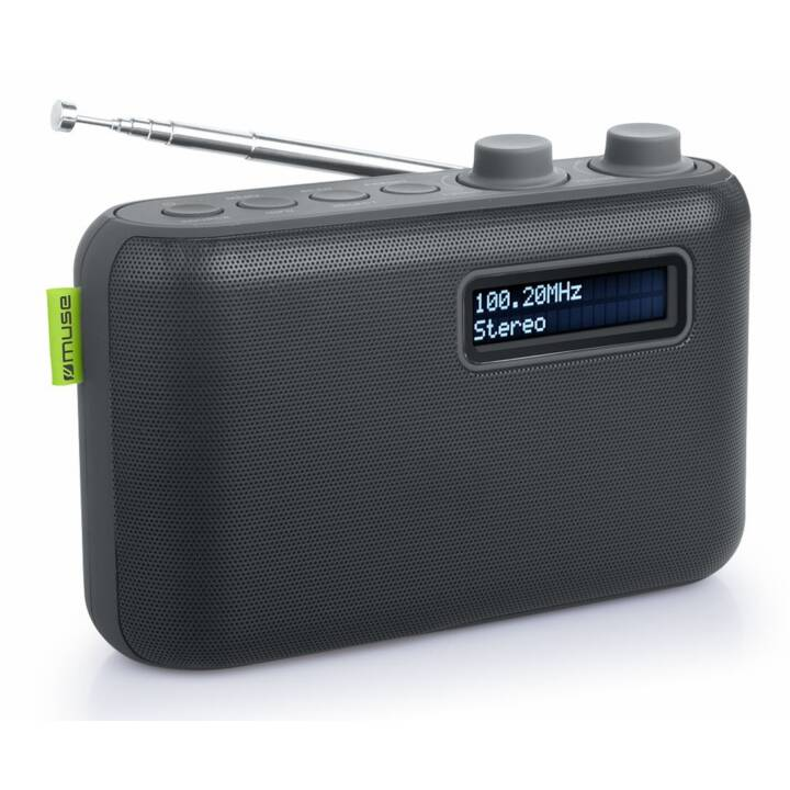 MIAMI LIFE DAB/DAB+ radio de table M-108 Noir