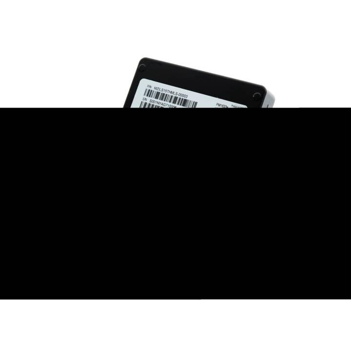SAMSUNG PM1633a (SAS, 7680 GB, Schwarz)