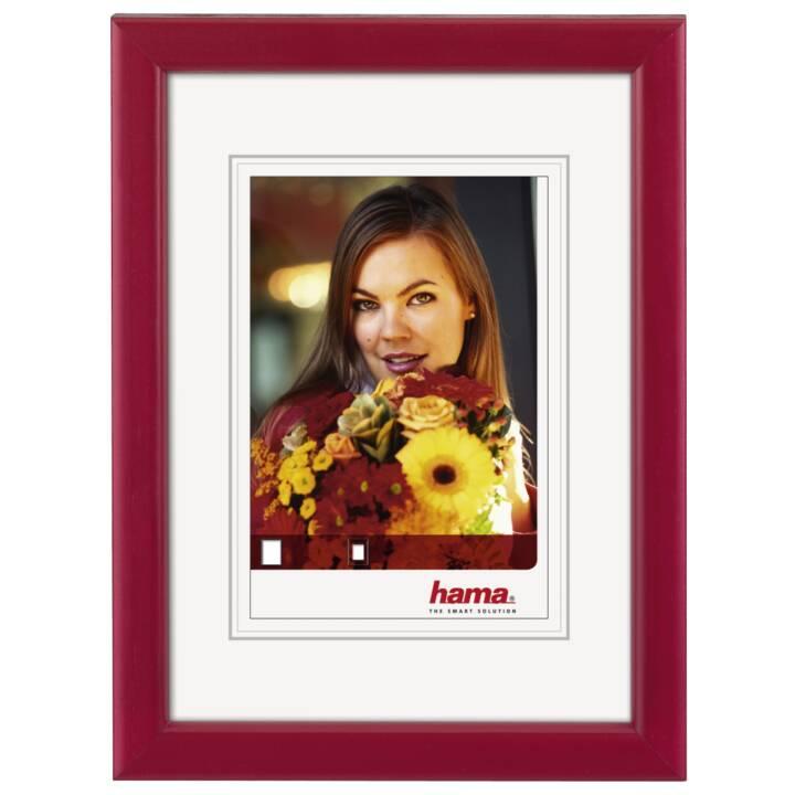 """HAMA cadre en bois """"Bella"""", rouge, 15 x 20 cm"""