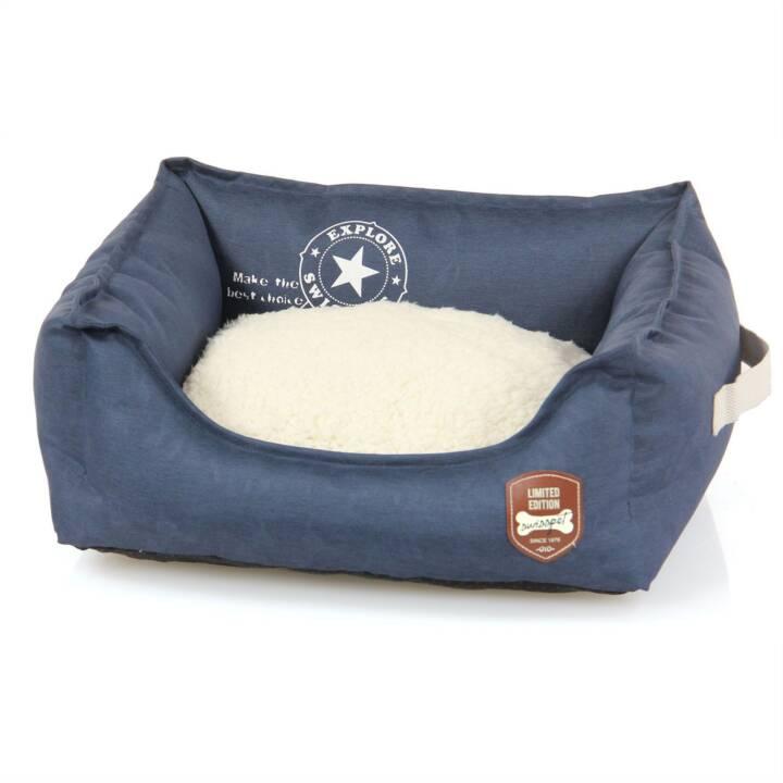 SWISSPET Schlafplatz Denim (Cream, Blau)