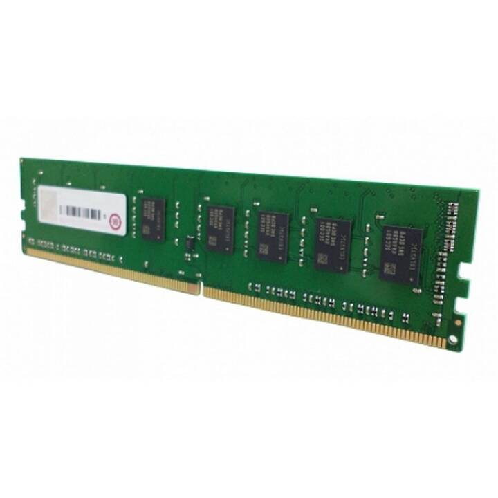 QNAP 8GDR4ECP0 (1 x 8 GB, DDR4-SDRAM, DIMM 288-Pin)