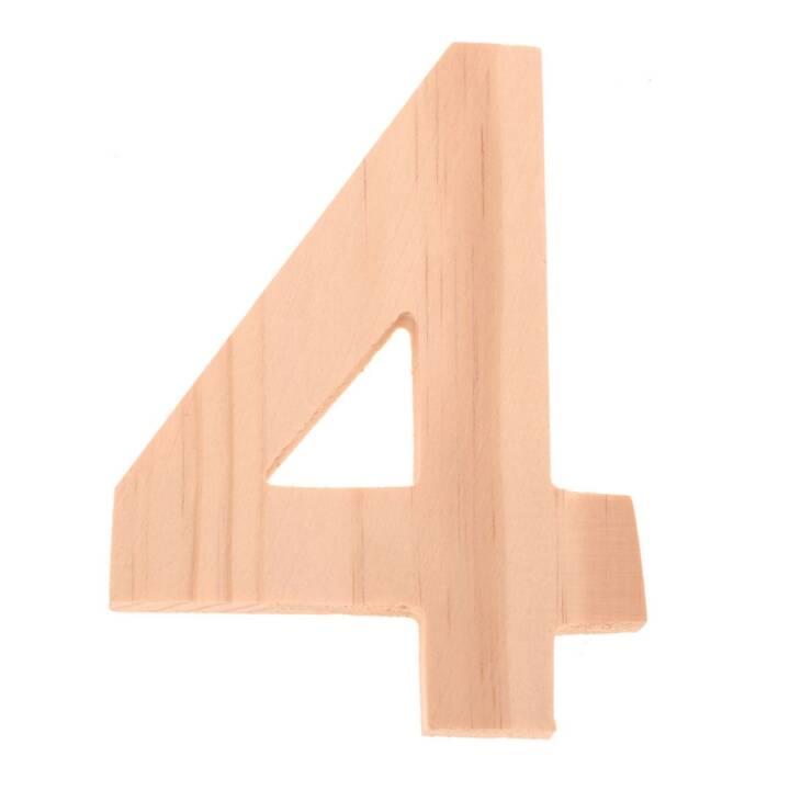 Numéros de bois GLOREX 4