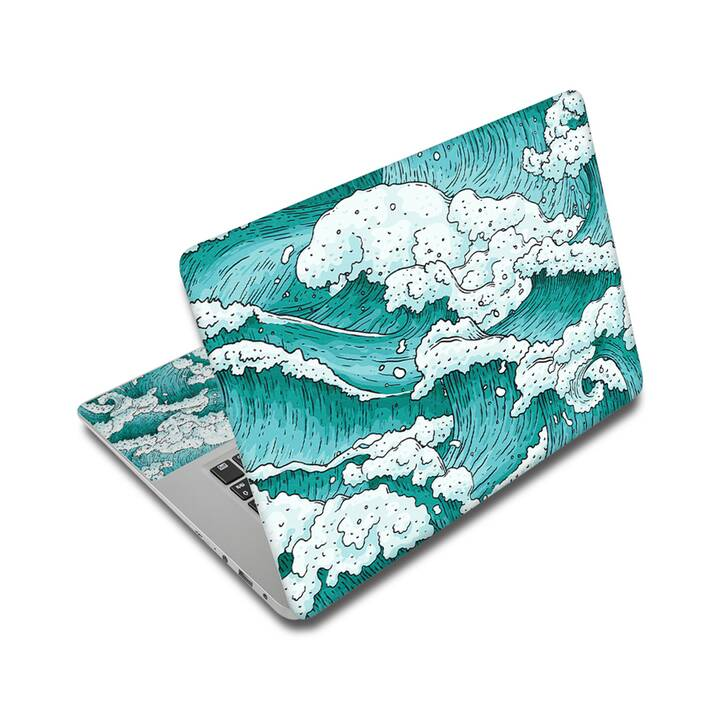 "EG adesivo per laptop 17"" - oceano"