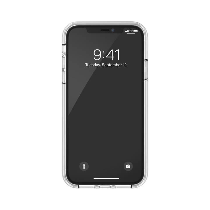CLCKR Backcover Clear Gripcase (iPhone 11, Roségold, Transparent)