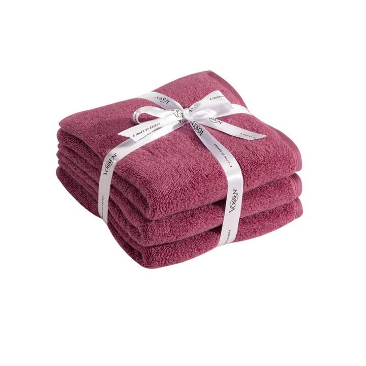 VOSSEN Asciugamano (50 cm x 100 cm, Pink)