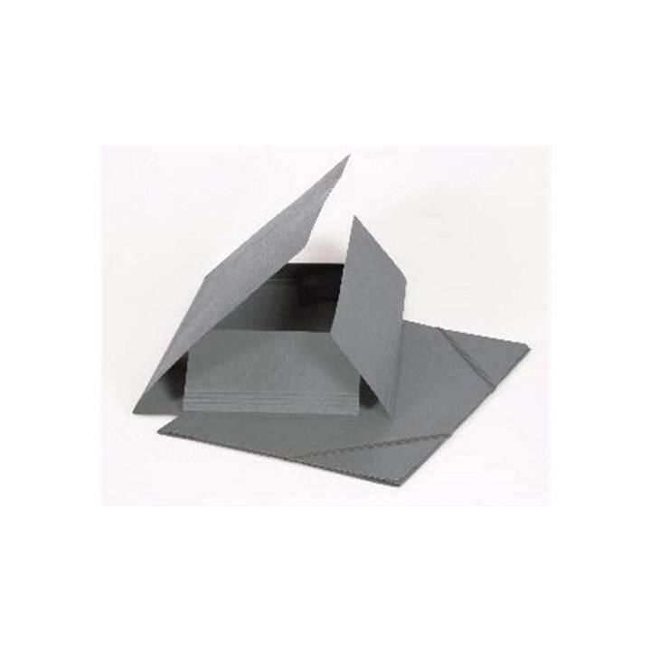 BIELLA Dossier à élastique (Gris, A4, 1 pièce)