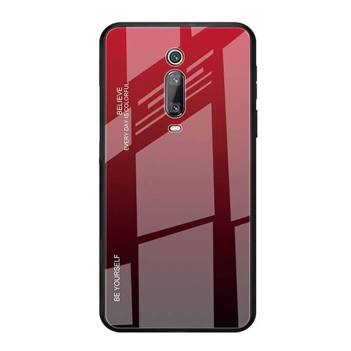 EG Mornrise Couverture arrière pour Xiaomi Redmi K20 Pro - Rouge foncé