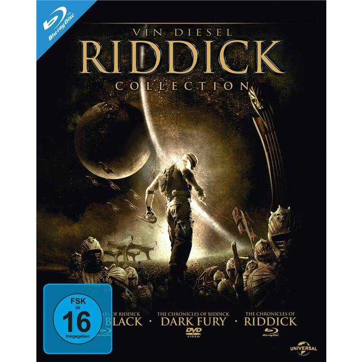 Riddick Collection (DE, EN)