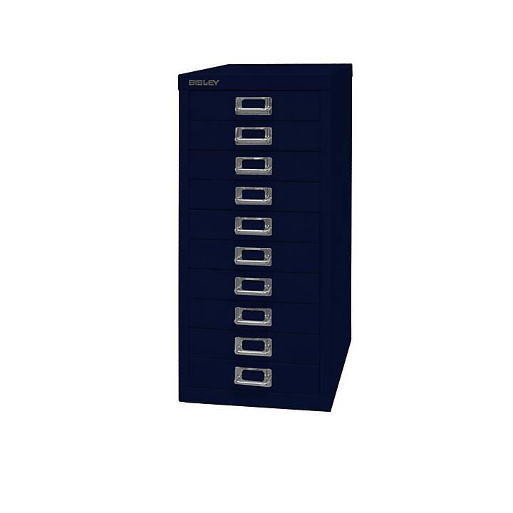BISLEY MultiDrawer Schubladenbox (A4, Blau)