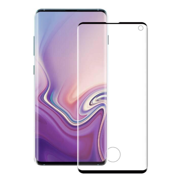 EIGER Vetro protettivo da schermo 3D Glass Samsung Galaxy S10 (Chiara)
