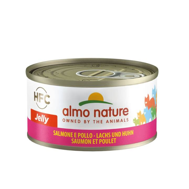 ALMO NATURE HFC Jelly (Adult, 70 g, Lachs, Huhn)