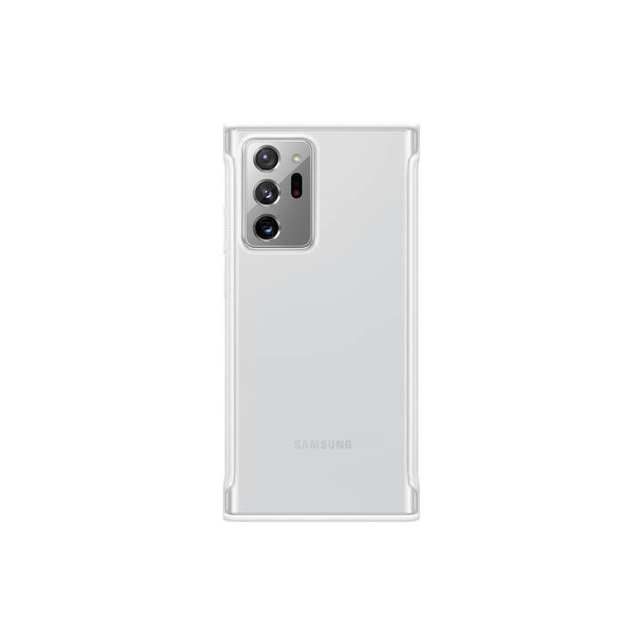 SAMSUNG Backcover Clear (Galaxy Note 20 Ultra, Galaxy Note 20 Ultra 5G, Transparente, Bianco)