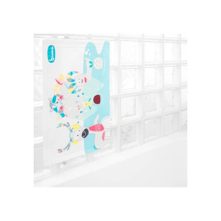 BADABULLE Tapis de bain Bergtiere (70 cm x 40 cm, Multicolore)