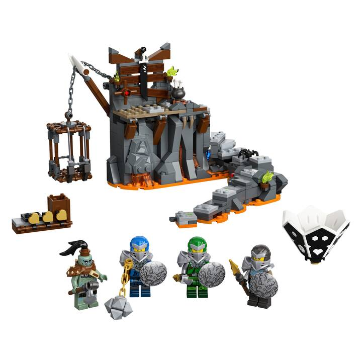 LEGO Ninjago Reise zu den Totenkopfverliesen (71717)