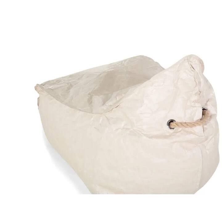 BELIANI Drop Sitzsack (Beige)