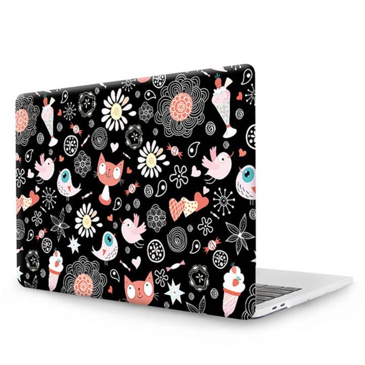 """EG MTT Cover pour MacBook Pro 13"""" Touch Bar - Cartoon Cats"""