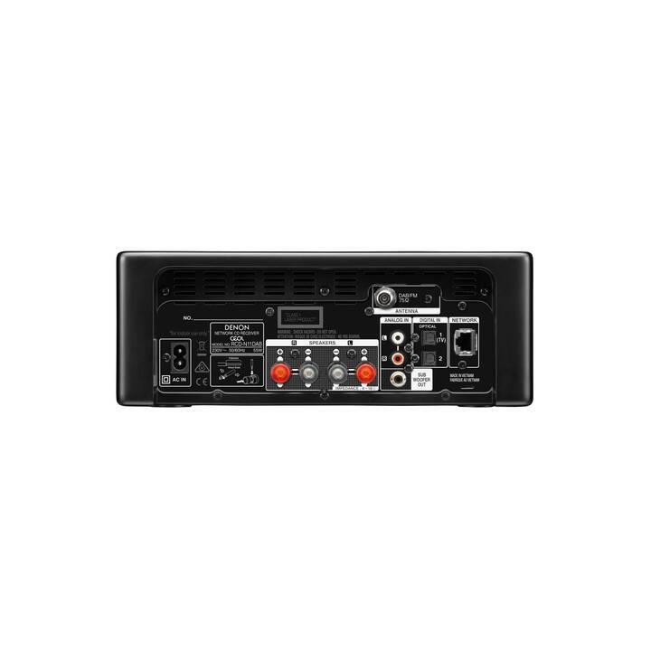 DENON CEOL N11DAB (Nero, Bluetooth, WLAN, Bluetooth, Internet, CD, Lettore esterno)