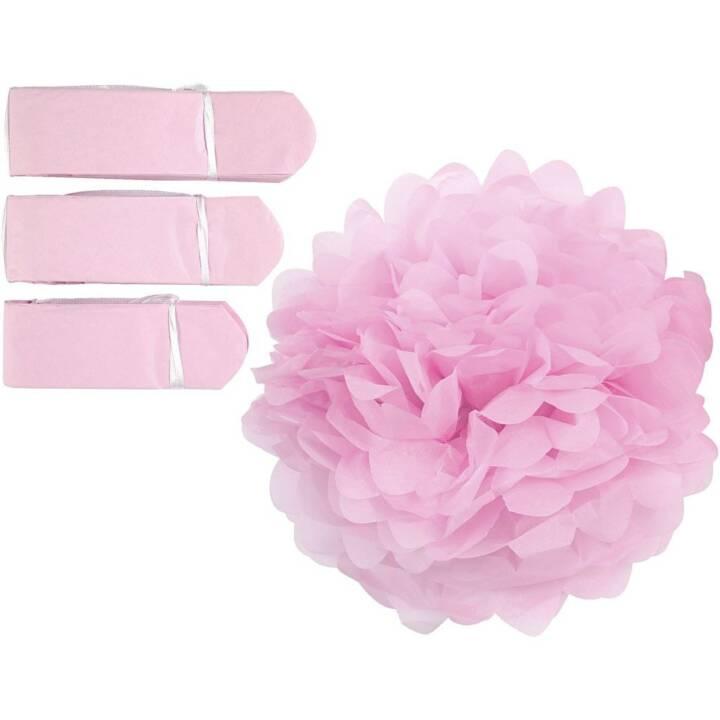 CREATIV COMPANY Pompons Pink