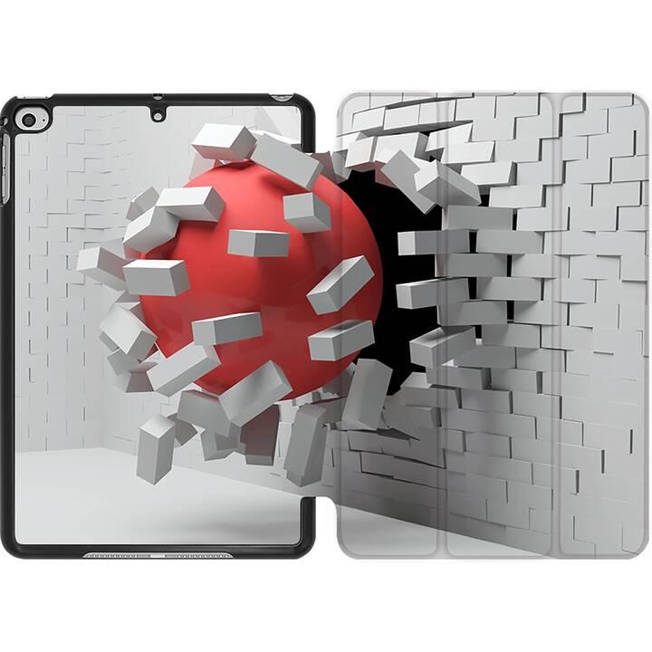 EG MTT Coque pour iPad Mini 4 (2015) et Mini 5 (2019) - wallhole