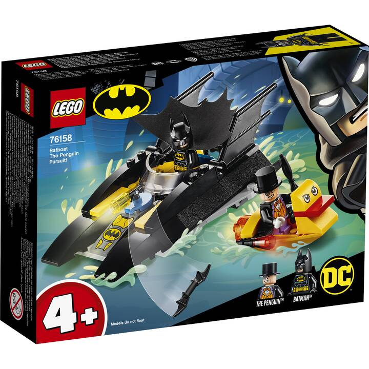 LEGO DC Comics Super Heroes La poursuite du Pingouin en Batbateau (76158)