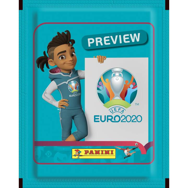 PANINI Uefa Euro 2020 Official Stickerpack Preview Edition Sammeln (Sport)