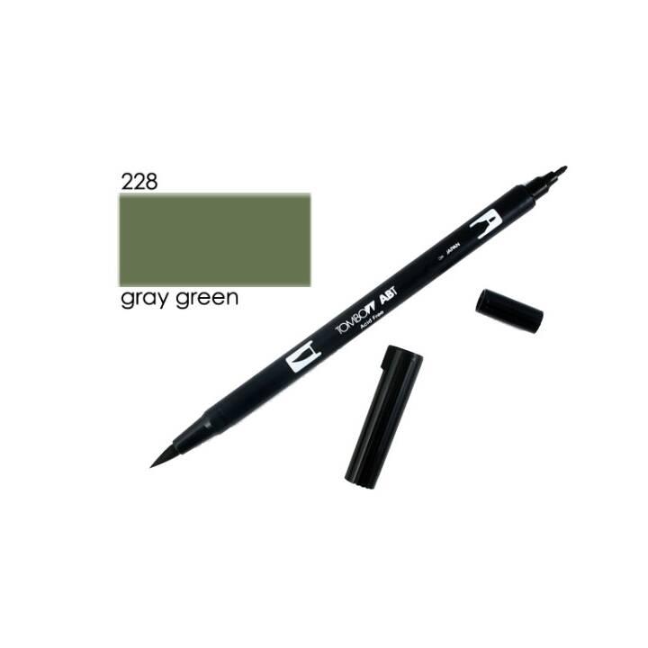 TOMBOW Marcatori di grafico (Verde, 1 pezzo)