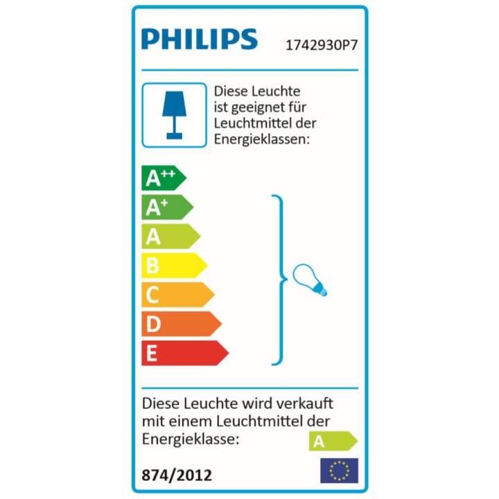 PHILIPS HUE Wandleuchte Impress (LED, 16 W, Schwarz)