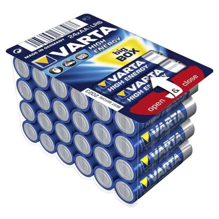 VARTA Batterie (AA / Mignon / LR6, 24 pièce)