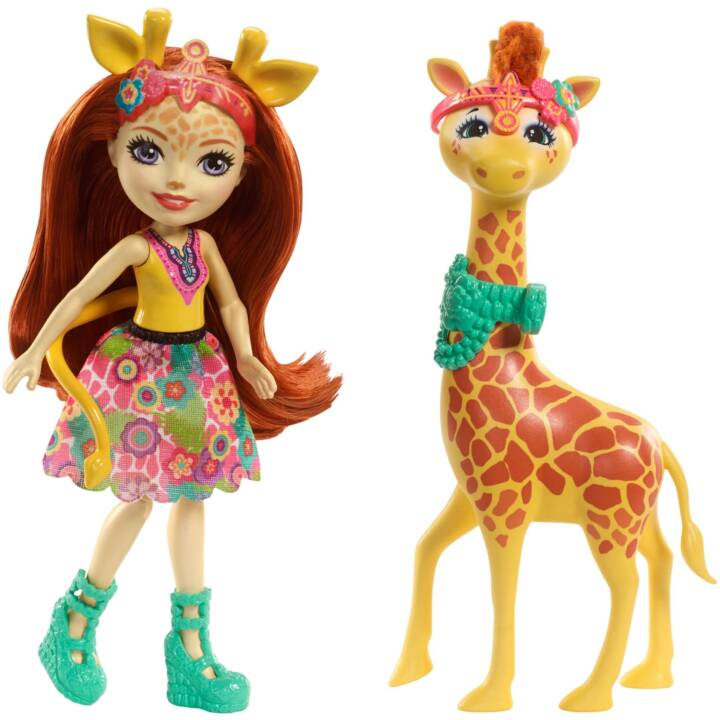 MATTEL Enchantimals Gillian Giraffa Gillian