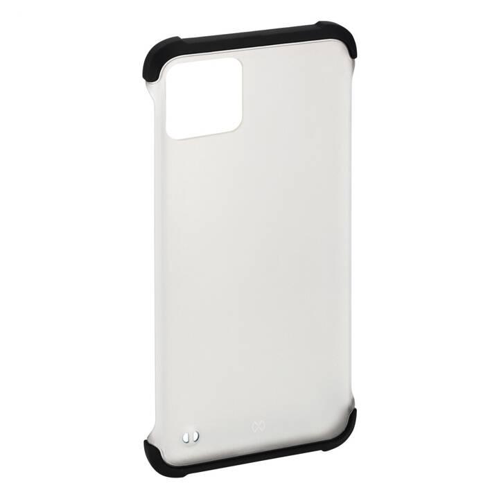 HAMA Backcover Essential Line Edge Protector (iPhone 11, Nero, Transparente)