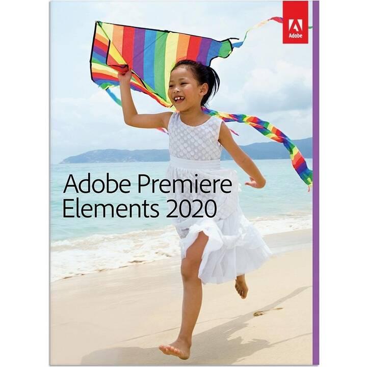 ADOBE Premiere Elements 2020 (Aggiornamento, Francese)