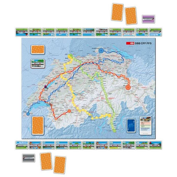 CARTA.MEDIA Il gioco ferroviario svizzero