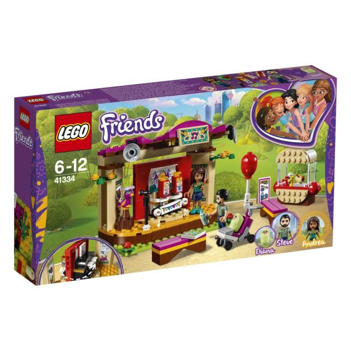 LEGO Friends Heartlake Andreas Bühne im Park (41334)