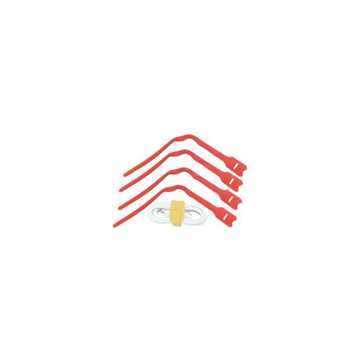 LINDY Attache de câble à crochets et boucles