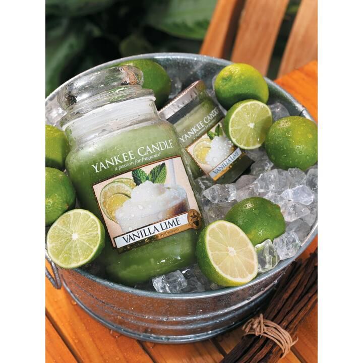 YANKEE CANDLE Vanilla Lime Candele profumate (Fruttato, Dolce, Piccante, Limetta, Vaniglia)