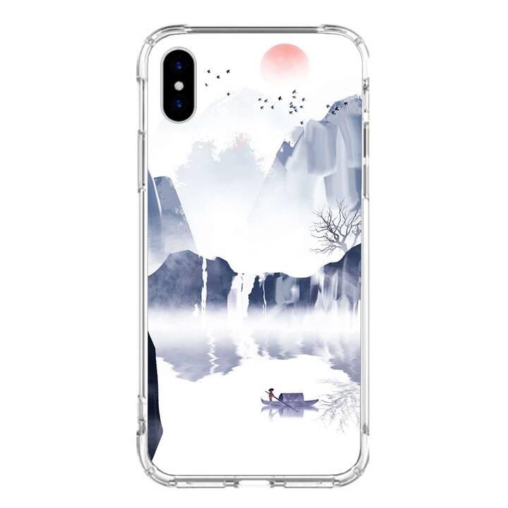 """EG MTT Backcover für iPhone X 5.8"""" 2018 - Bemalung"""