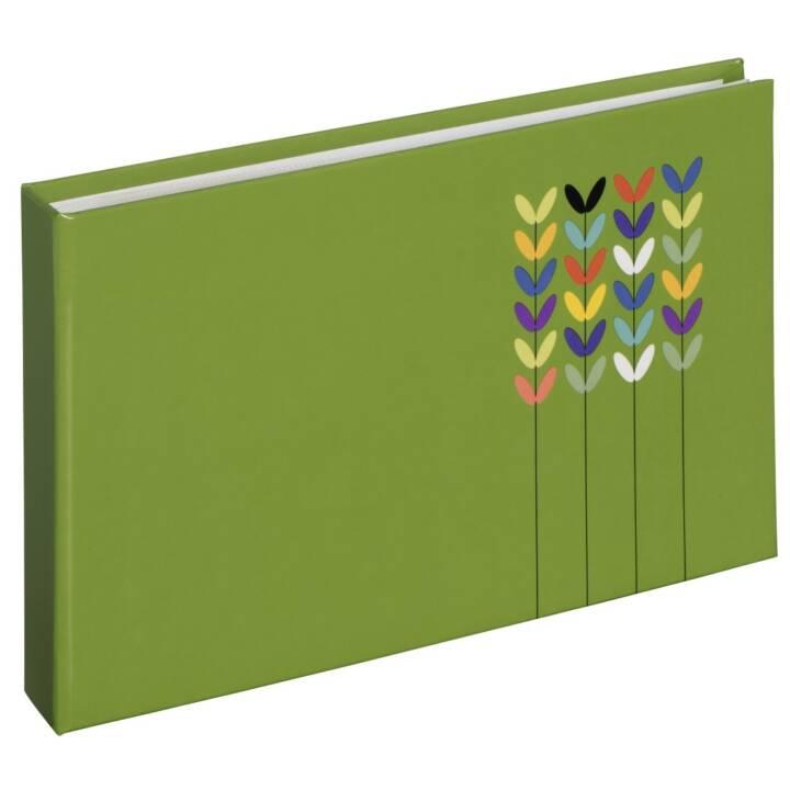 """HAMA Mini-Plug-in Album """"Blossom"""", per 24 foto, formato 10x15 cm, verde"""