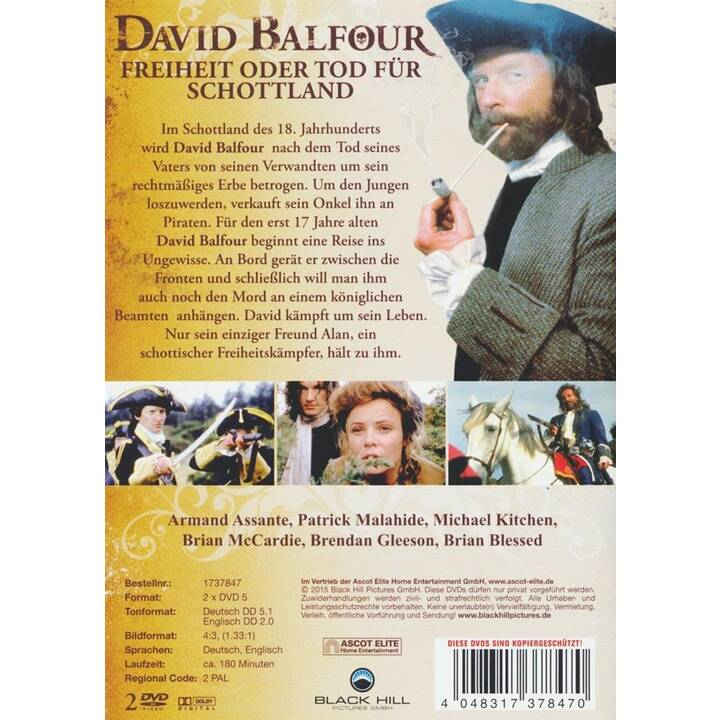 David Balfour (DE, EN)