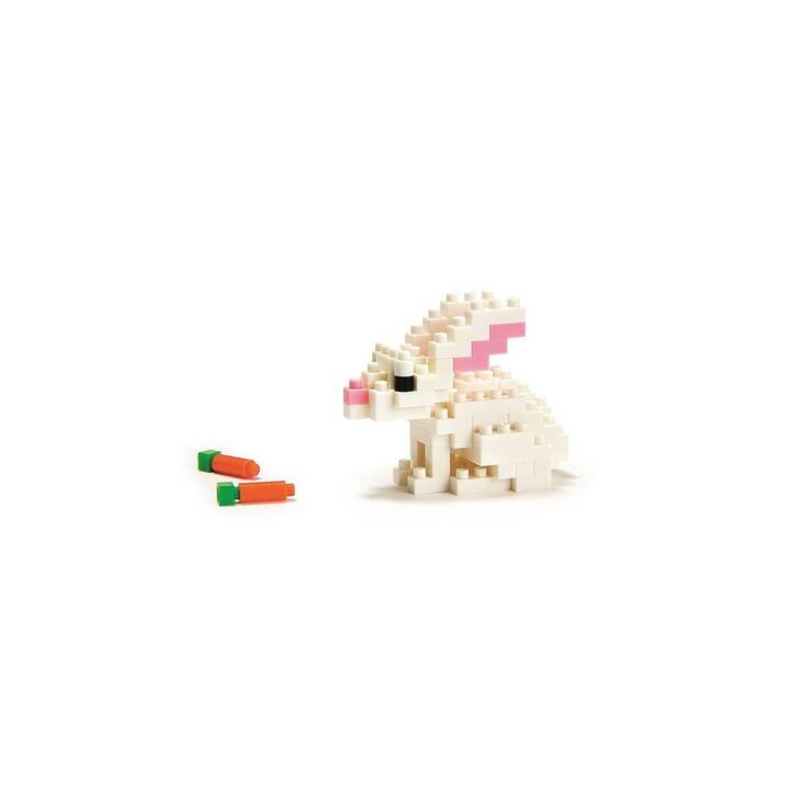 NANOBLOCK Mini Collection Rabbit Level 2 (90 pièce)