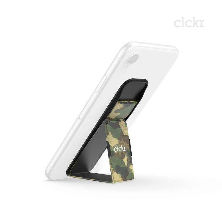 CLCKR Grip&Stand L Fingerhalter (Camouflage)