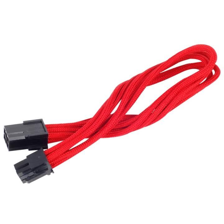 SILVERSTONE TECHNOlOGY Stromanschlusskabel (6 Pin, 0.25 m)