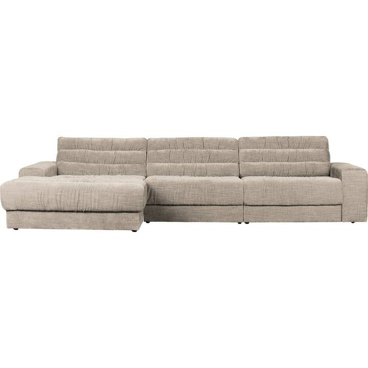 MUTONI CASUAL Date Canapé d'angle (Polyester, Beige, 316 cm x 162 cm)