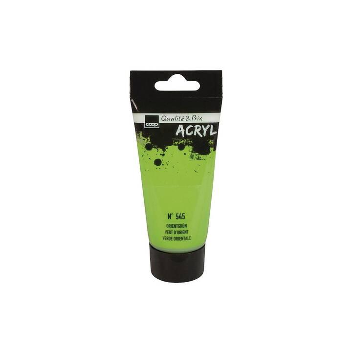 COOP Colore acrilica (75 ml, Giallo, Verde)
