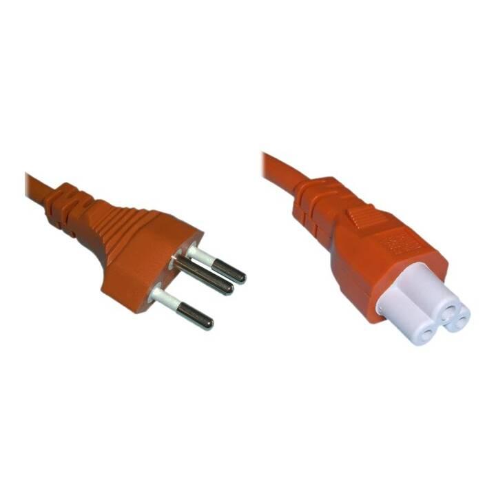 DIGGELMANN Cavo elettrico SPNBI-2OG (T12, 2 m, Arancione)